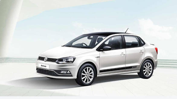 Volkswagen Ameo Black and White Edition