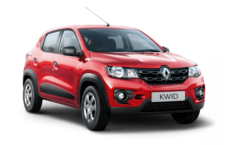 Renault Kwid Red Color Car