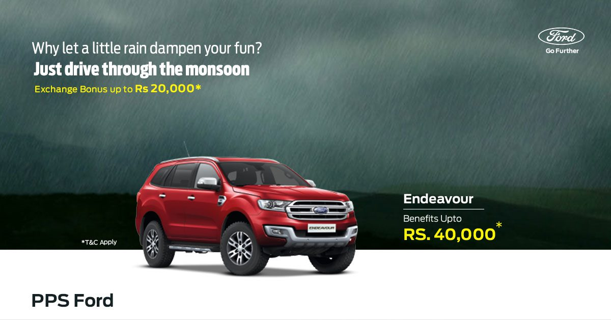 Ford Endeavour Offer Price in Hyderabad
